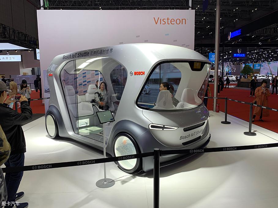 2019上海车展 博世IoT Shuttle车型亮相