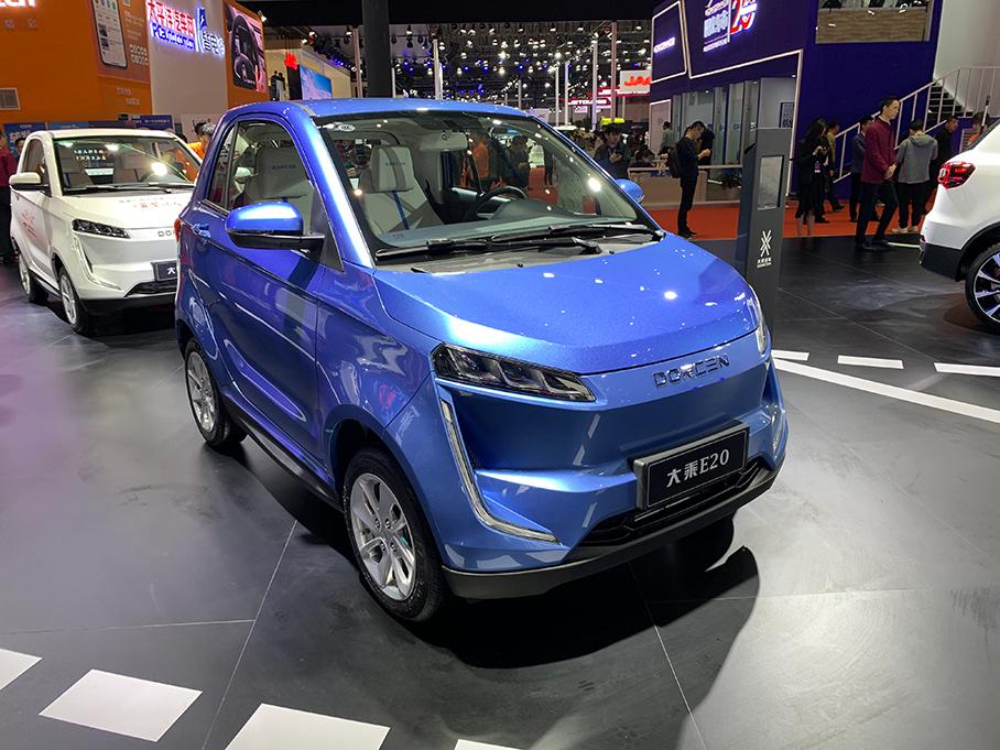 2019上海车展:大乘E20 车型正式上市