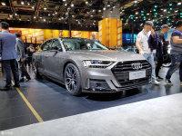 上海车展 奥迪A8L运动套件版正式亮相