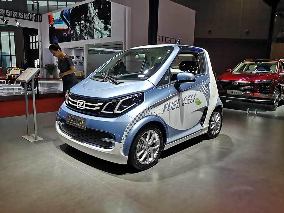 2019上海车展:众泰E200 FCV正式亮相