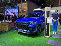 一款体型庞大的SUV 捷途X95已正式亮相