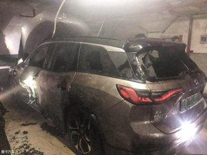 蔚来汽车月发生内两起自燃事故