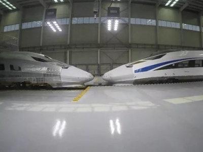 史上最贵碰撞测试:76km/h高速列车对撞