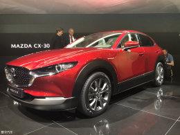 马自达CX-30有望6月上市 全新紧凑型SUV