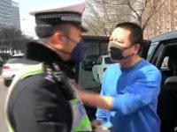 戏精车主涉多项违法 侮辱交警终被刑拘