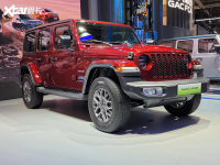 上海车展:Jeep牧马人4xe正式开启预订