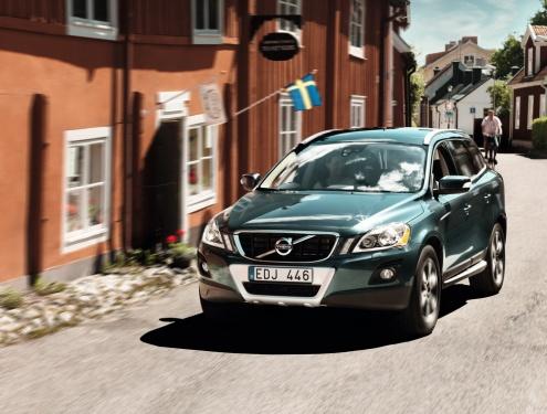作为中型豪华suv市场的新帅,沃尔沃xc60是沃尔沃汽车最安全高清图片