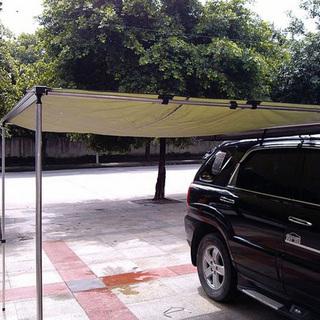 汽车遮阳棚 车边帐 遮阳篷 卷帘帐图片