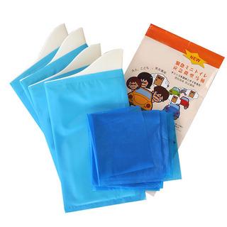 老人儿童应急微型马桶 方便尿袋