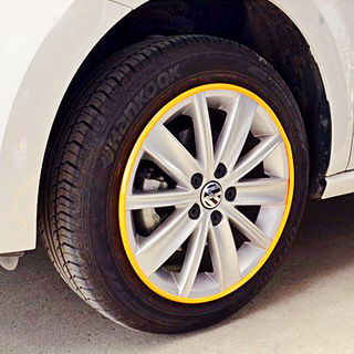 彩色汽车轮毂保护圈
