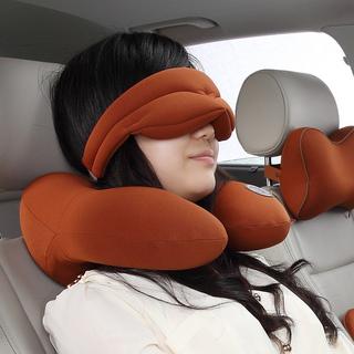 GIGI记忆棉颈椎保健午睡枕头眼罩套装