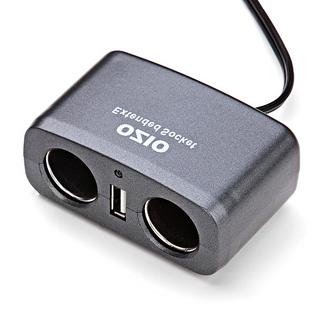 奥舒尔EF21一拖二点烟器插座
