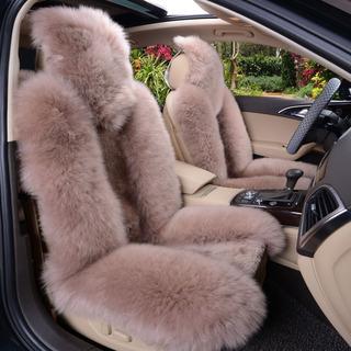 澳优美 高档坐垫纯羊毛坐垫冬季汽车羊毛坐垫特价包邮皮毛一体