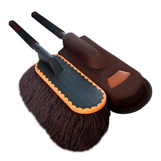 车豹汽车掸子扫尘除尘掸汽车用品擦车拖把汽车洗车刷油拖把蜡刷