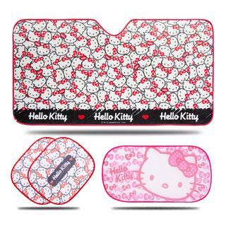 稀有粉红Hello Kitty 汽车遮阳挡
