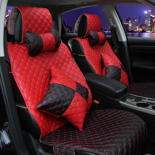 汽车座垫 个性时尚超纤皮坐垫