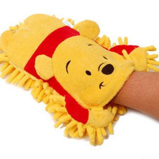 维尼熊 汽车清洁用品 便携擦车手套