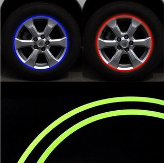 汽车轮毂反光贴