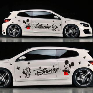 米奇贴纸 迪士尼拉花车贴