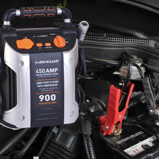 自驾游汽车应急气泵胎压照明