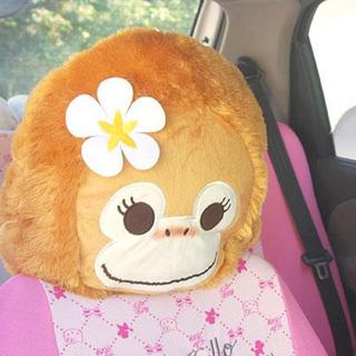 小猴子汽车座椅头套 椅头罩