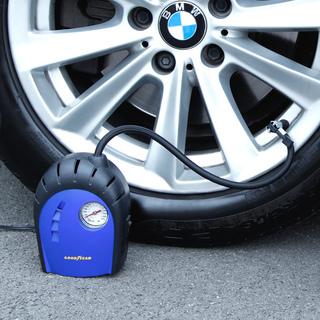 固特异 车载便携式轮胎充气泵 打气泵