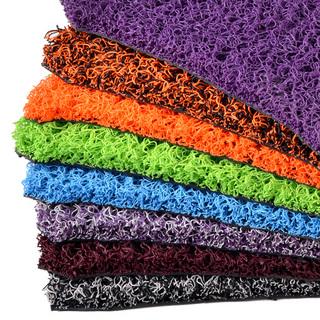 彩色汽车丝圈脚垫地毯