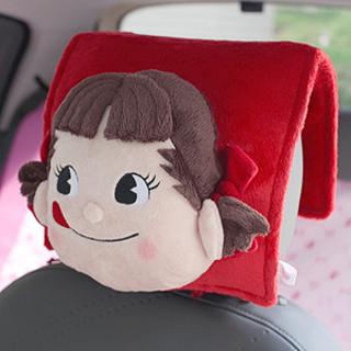 PEko牛奶妹 不二家汽车头靠垫