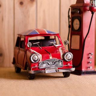mini cooper铁皮汽车模型