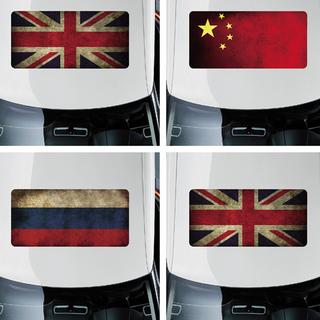 国旗版单透天窗贴纸