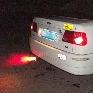 汽车不锈钢发光喷光喷火尾喉
