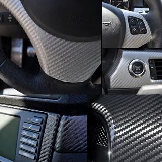 仿碳纤维车内中控台贴纸