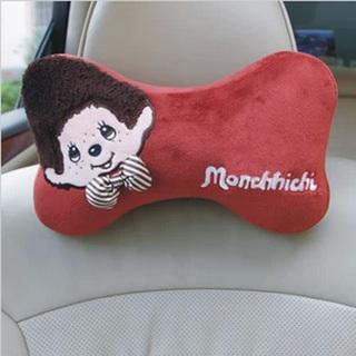 蒙奇奇 汽车记忆棉头枕 车用按摩颈枕