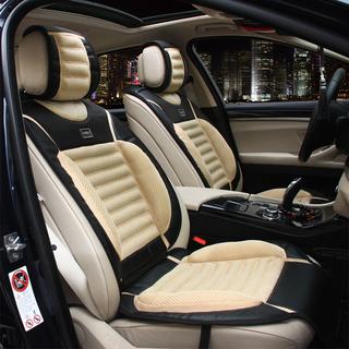 WRC高档奢华运动碳纤纹汽车座垫
