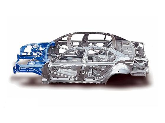 车架,车身为一个整体结构重量轻相对省油如今大部分民用
