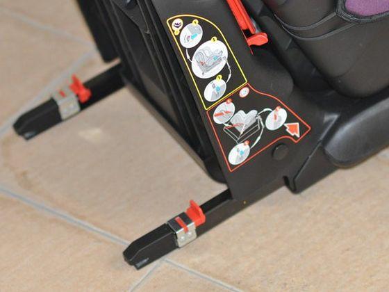 ISO FIX儿童座椅接口