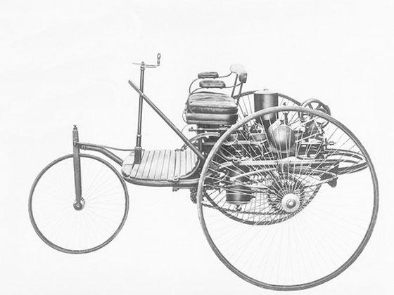 世界公认的第一辆汽车