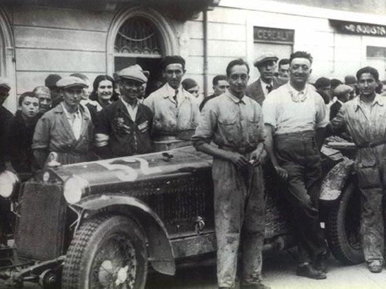 恩佐·法拉利本人也是个出色的赛车手