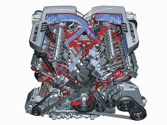 W型发动机