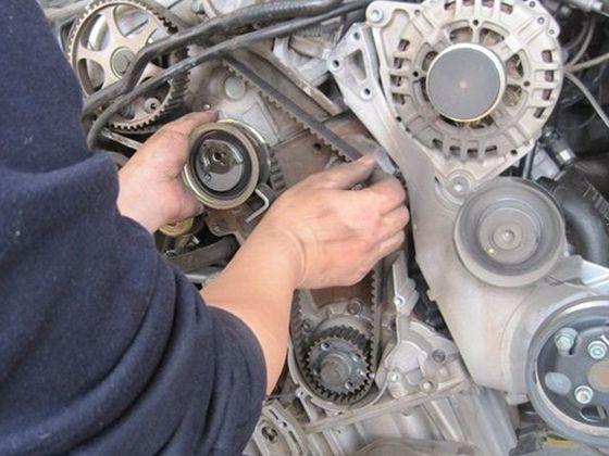 正时皮带已在发动机中应用很长时间,且图片