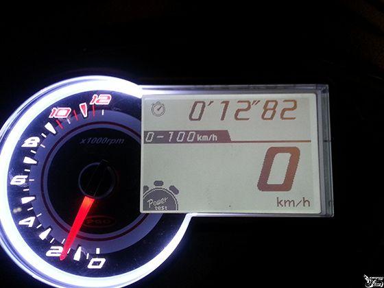 0-100加速时间