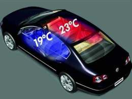 温度分区控制