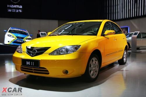海马汽车将于明年推出两厢海马3轿车高清图片