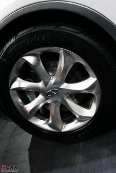 纽约车展 日产首发英菲尼迪ex豪华概念车 高清图片