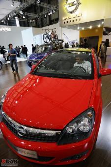 欧宝两款新车在07上海车展亮相并亚洲首发高清图片