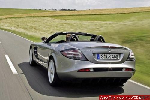史上最快敞篷车 试驾奔驰SLR Roadster高清图片