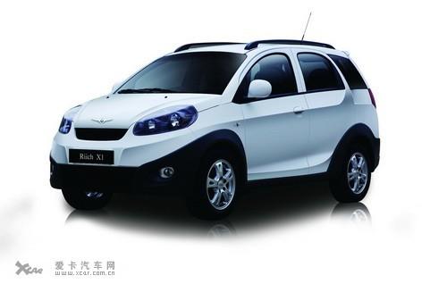 瑞麒x1小型suv车—瑞麒x1是奇瑞公司推出的第一辆时尚运动高清图片