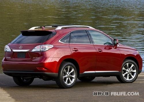 北美版rx系列2010款车型 雷克萨斯图片