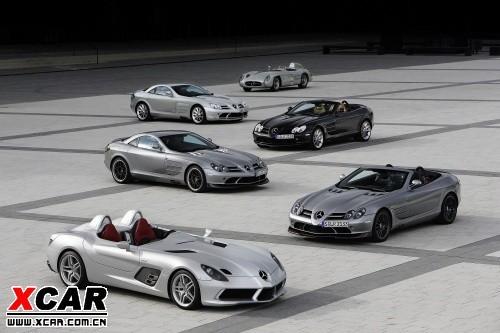 奔驰在2004年发布了旗下第一款slr车型,迄今为止 slr 车系总高清图片