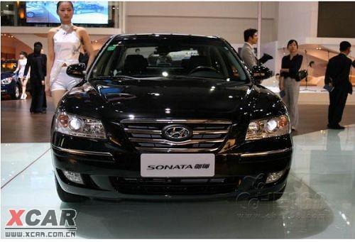 本届   广州   车展   上,北京现代将联合韩国   现代汽车 高清图片